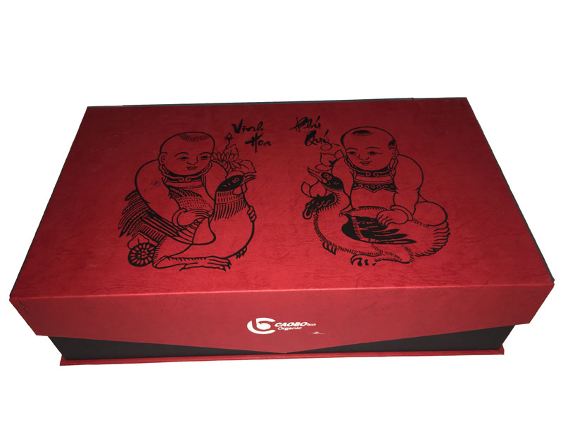 Bộ quà tặng Tết - Cao Bo Organic Tea