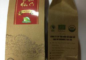 Trà đen hữu cơ túi giấy - Cao Bo Organic Tea